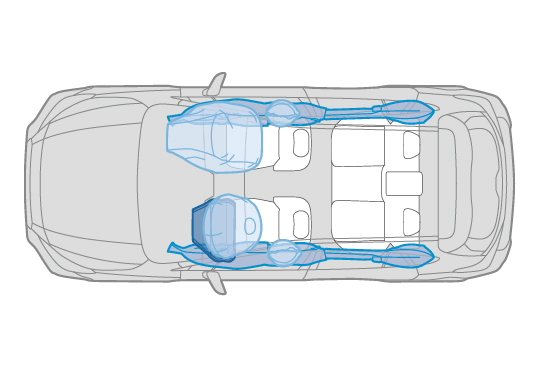 Supplemental Restraint System (SRS)<sup>*</sup> Airbags